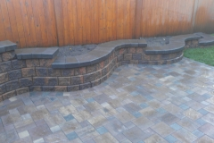 Curved Reatining Wall